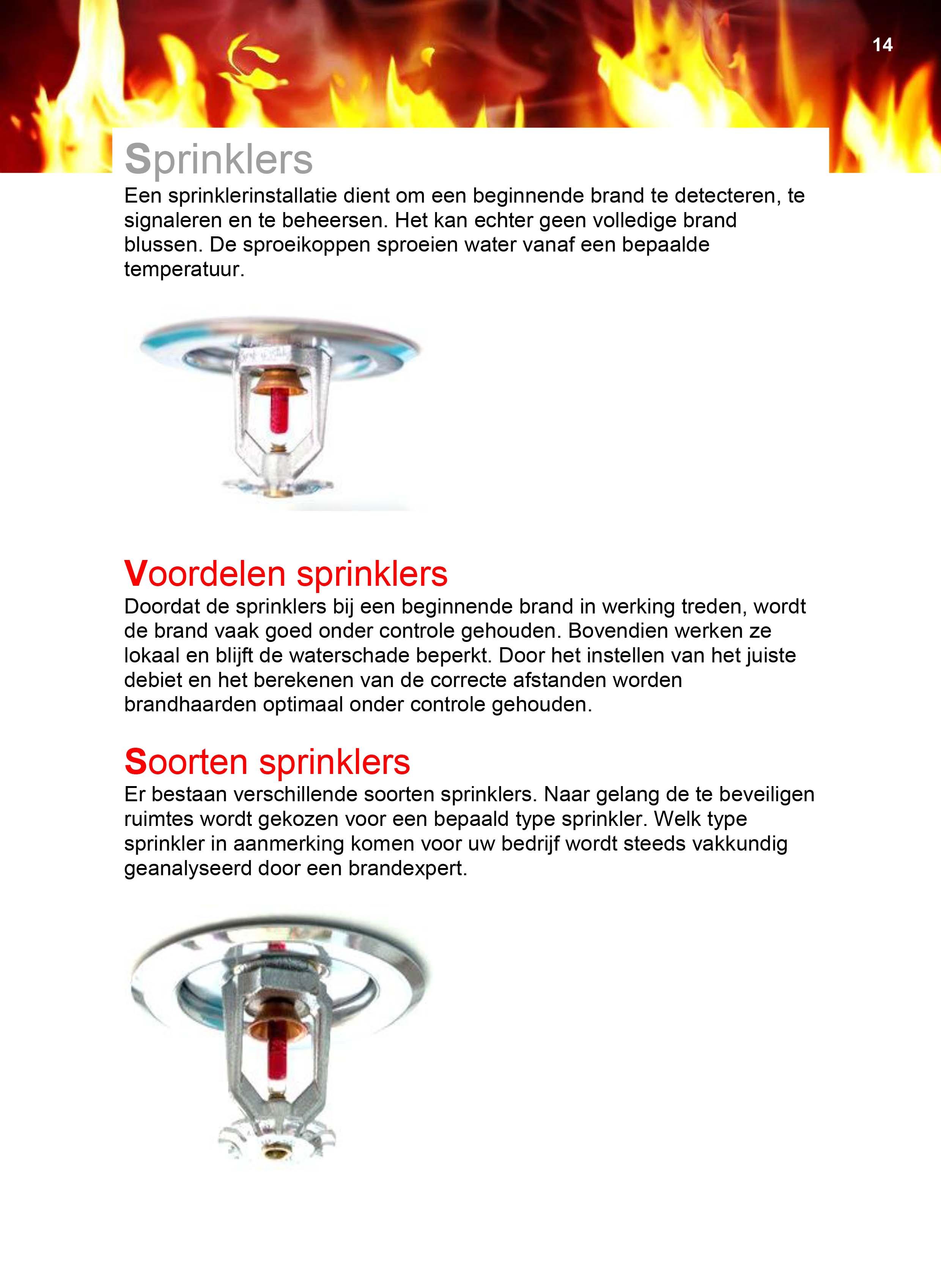 11 Sprinklers