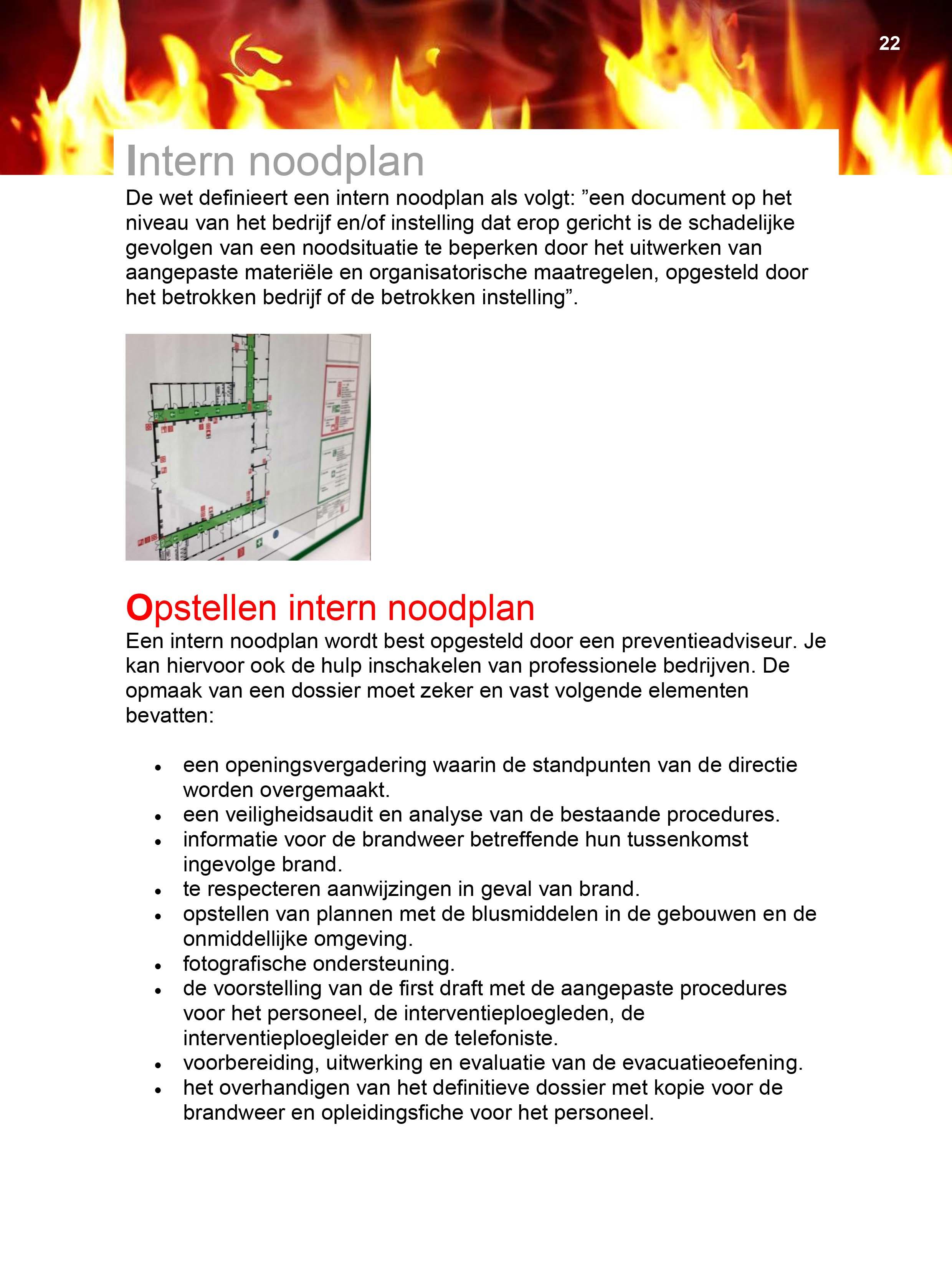 18 Intern noodplan